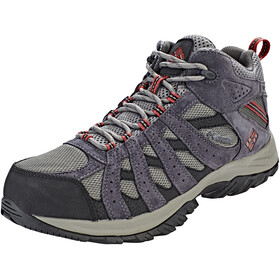 Columbia Canyon Point Mid WP Shoes Men Charcoal/Garne